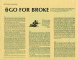 Go For Broke Brochure