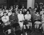 [Incarcerees who have relocated to Detroit, MI, participating in young people's service and...
