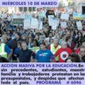 MASSIVE ACTION FOR EDUCATION.