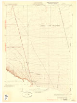 California (Kern County) West of Tejon Hills quadrangle[cartographic material] /topography by D.H....