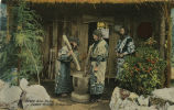 In the Ainu Home