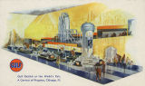 Gulf Exhibit at the World's Fair, A Century of Progress, Chicago, Ill.