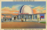 Elgin Watch Building, New York World's Fair, Situated just inside World's Fair Boulevard gate -...