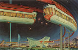 "The AMF Monorail, New York World's Fair 1964-1965, ""Peace Through Understanding"""